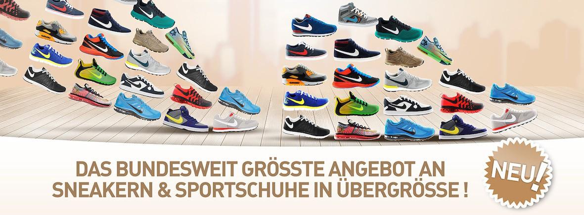 separation shoes b1889 af8da Nike Schuhe Übergrössen - Grösse 15,16,17,18 | 47,48,49,50